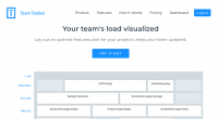 Team Toolset website screenshot